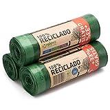 Relevo 60 Stück Müllbeutel 30L - 100% Recycelt Müllsäcke
